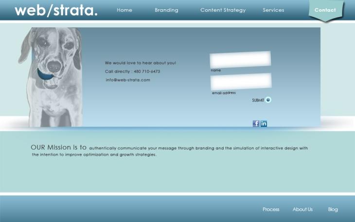 CONTACT Web-Strata